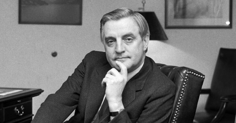 Walter Mondale, Ex-Vice President Under Jimmy Carter, Dies – The New York Times