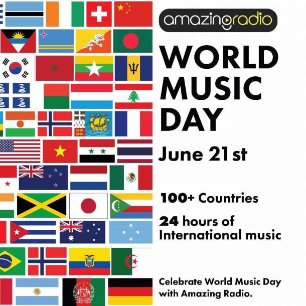 Amazing Radio USA Celebrates World Music Day On June 21st – Grateful Web
