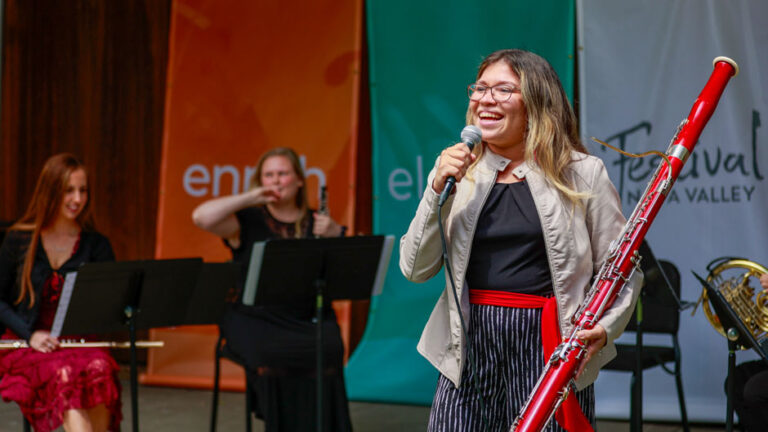 Frost School, Festival Napa Valley 'join forces' – University of Miami