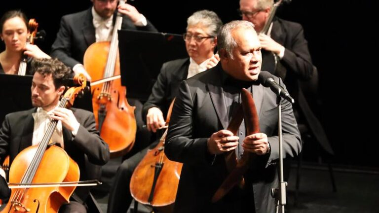 WA Symphony Orchestra and WA Youth Orchestra in Dreams of Place with Barry McGuire and Della Rae Morrison – The West Australian